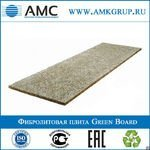 фото Фибролитовая плита Green Board GB1 | 3000х600х100